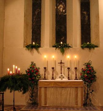 Christmas Altar 2