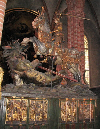 dragon of stockholm cathedral