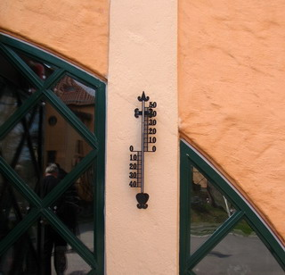 thermometer at Sigtuna Foundation