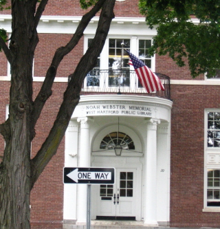 noah webster library