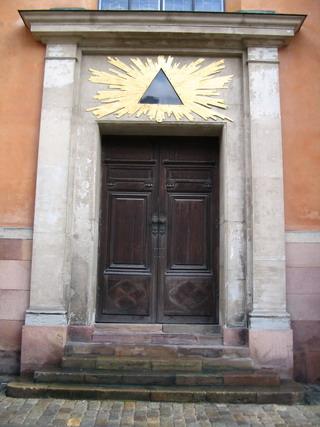 stockholm cathedral north door